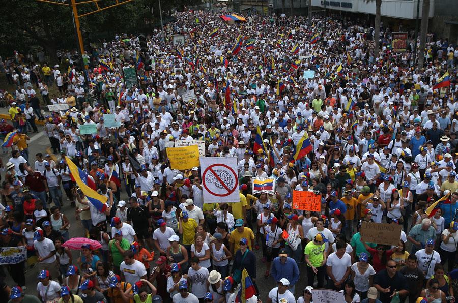 Atualidades: Crise na Venezuela