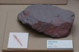 Hematita – óxido de ferro III