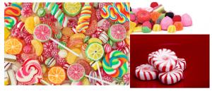 Os sabores e cheiro dos doces, são provenientes dos ésteres.