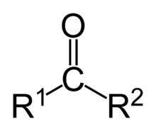 Fórmula geral da cetona