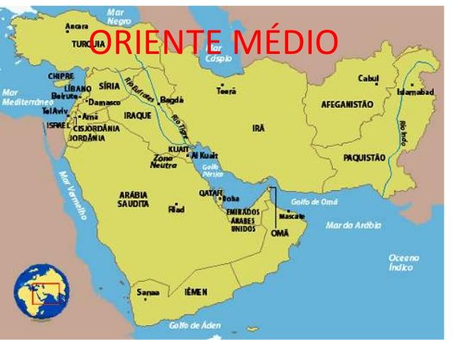 Resultado de imagem para oriente medio