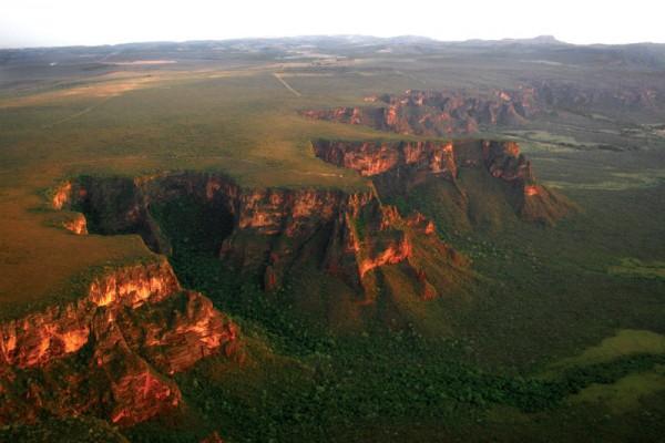 Planalto Central, forma do relevo brasileiro que se estende pelos estados de Goiás, Minas Gerais e parcialmente por Tocantins, Mato Grosso e Mato Grosso do Sul