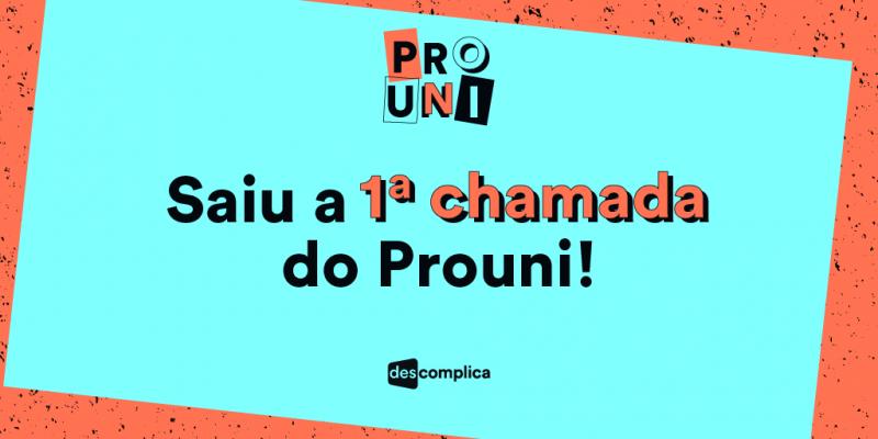 Fique ligado! A primeira chamada do ProUni 2016 acabou de sair!