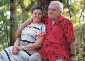 Jorge Amado e Zélia Gattai.