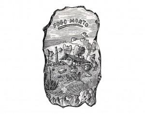 Ilustração de Luís Jardim para Fogo Morto.