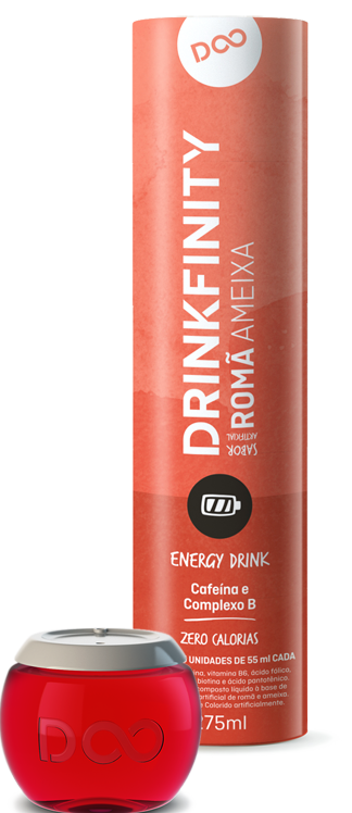 Pomegranate Plum Caffeine & B Complex pods by Drinkfinity