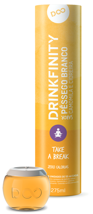 White Peach Chamomile & Lemongrass pods by Drinkfinity