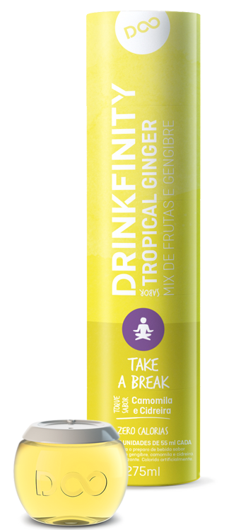 Tropical Ginger Chamomile & Lemongrass pods by Drinkfinity