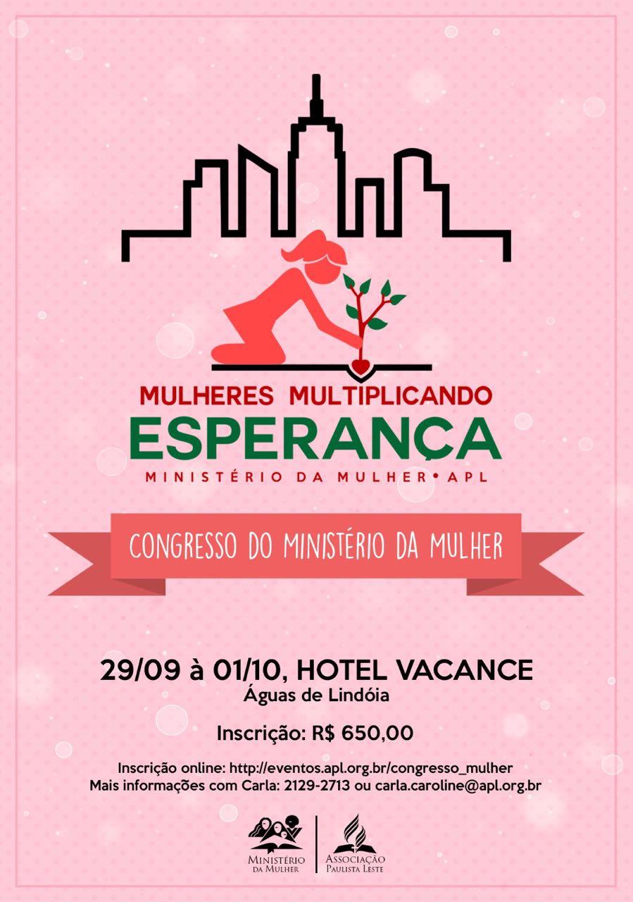 Congresso do Ministério da Mulher: Mulheres Multiplicando Esperança