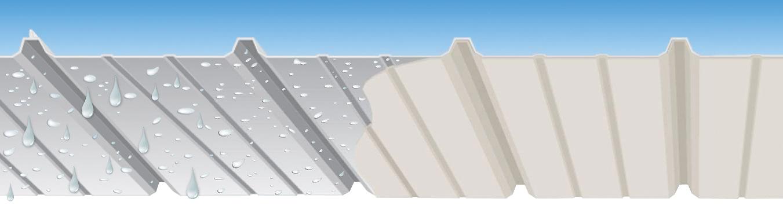 Membrana Anti-Condensação ECO·NO·DR!P em Telhado Metálico