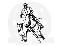 Working-cow-horse