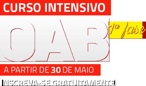 CURSO INTENSIVO GRATUITO XXIII EXAME OAB 1ª FASE