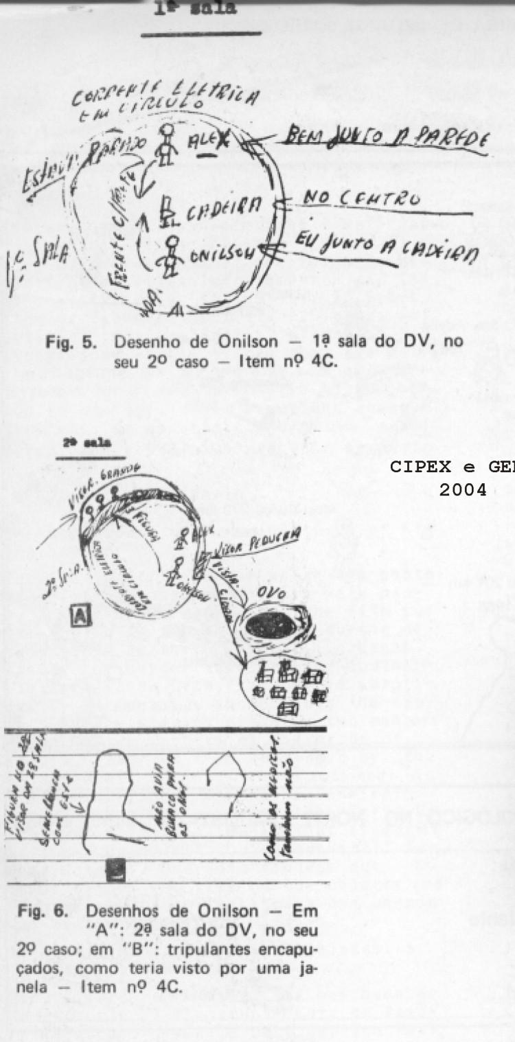 Desenhos de Onilson, referentes ao 2º Episódio