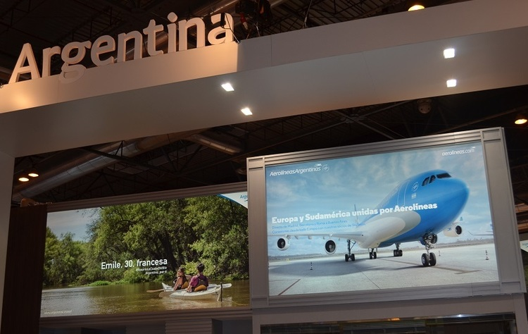 Foro stand en fitur.