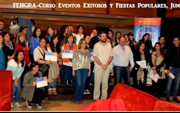 Rio gallegos. participacion exitosa en fiestas populares. damian faccini. 29 06