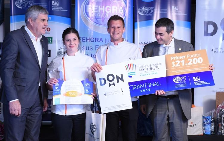A fehgra chefs 1 premio