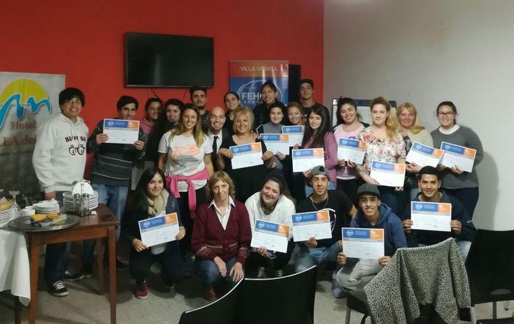 Villa gesell curso de mozos y camareras