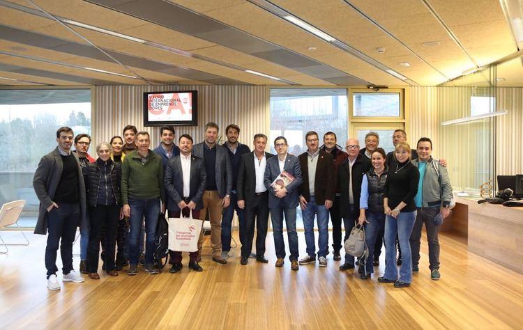 Fehgra delegaci%c3%b3n argentina con el directo de basque culinary center