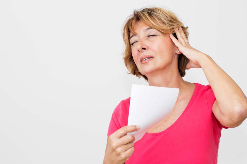 ondas de calor na menopausa