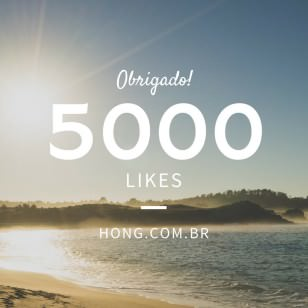 5000 Likes no Facebook!