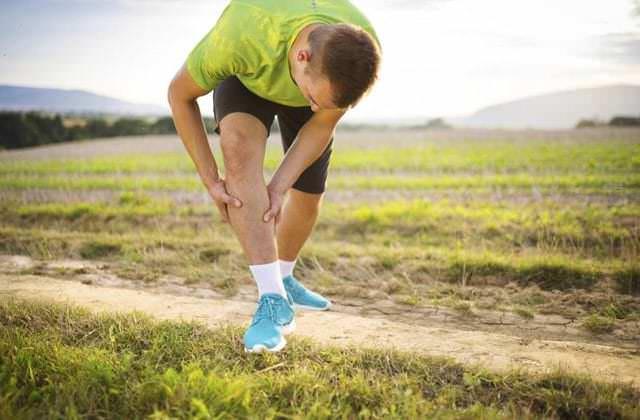 dor nas pernas em atletas