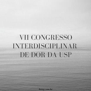 VII Congresso Interdisciplinar de Dor da USP