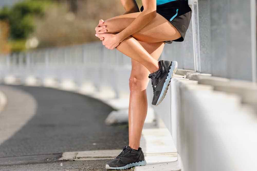 Dor no joelho em corredores