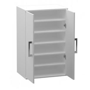 Armario Multiuso / Sapateira 2 Portas - Branco - Primolar
