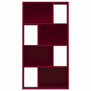 Estante Design Vertical/Horizontal - Vermelho - Primolar