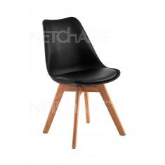 Cadeira Para Cozinha Brazos Cor Preta