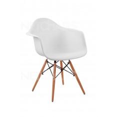 Cadeira Eames Com Braço Cor Branca