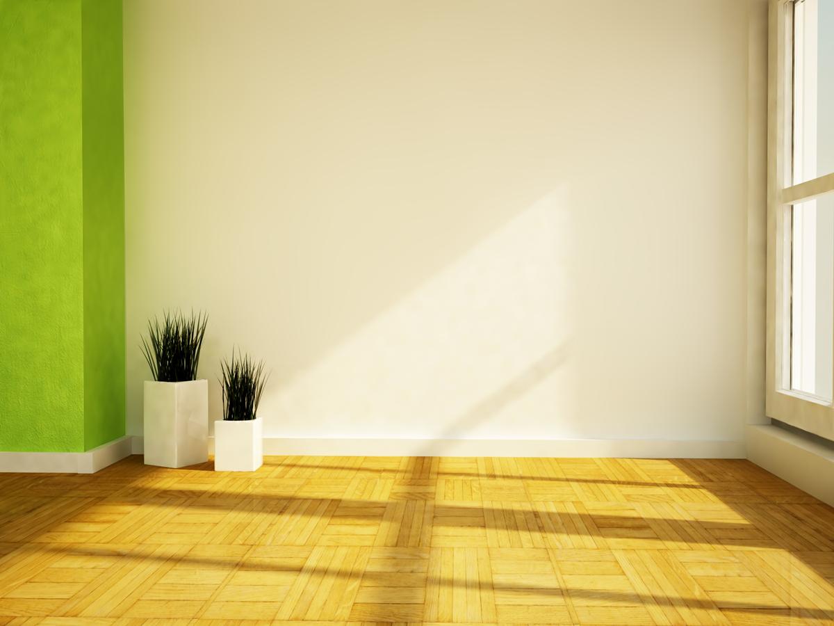 como limpar as paredes do apartamento