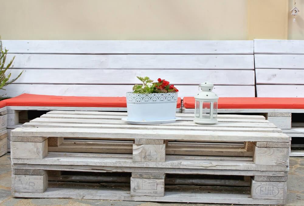 Aprenda a investir em pallets para a decoracao da sua casa