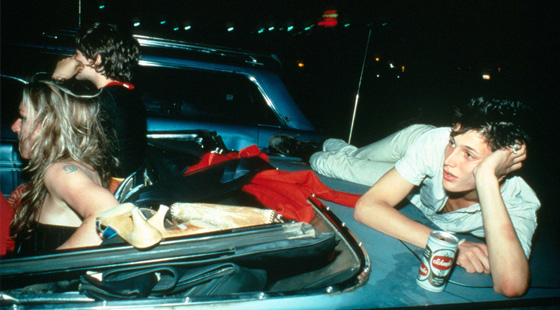 Nan Goldin. French Chris at the drive in, New Jersey, 1979