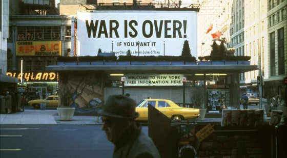 Yoko Ono - War is Over 1969