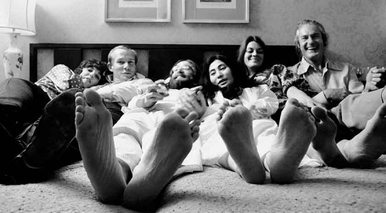 Yoko Ono Family Feet