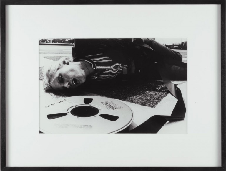 David Lamelas. The Violent Tapes of 1975, 1975.