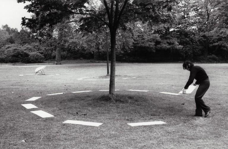 David Lamelas. Señalamiento de tres objetos, 1968.