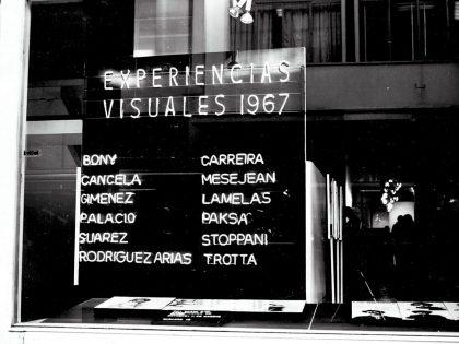 David Lamelas Experiencias 67