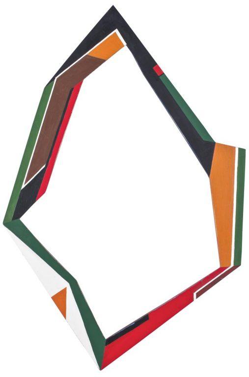 Diyi Laañ Pintura Madí sobre marco estructurado, 1949
