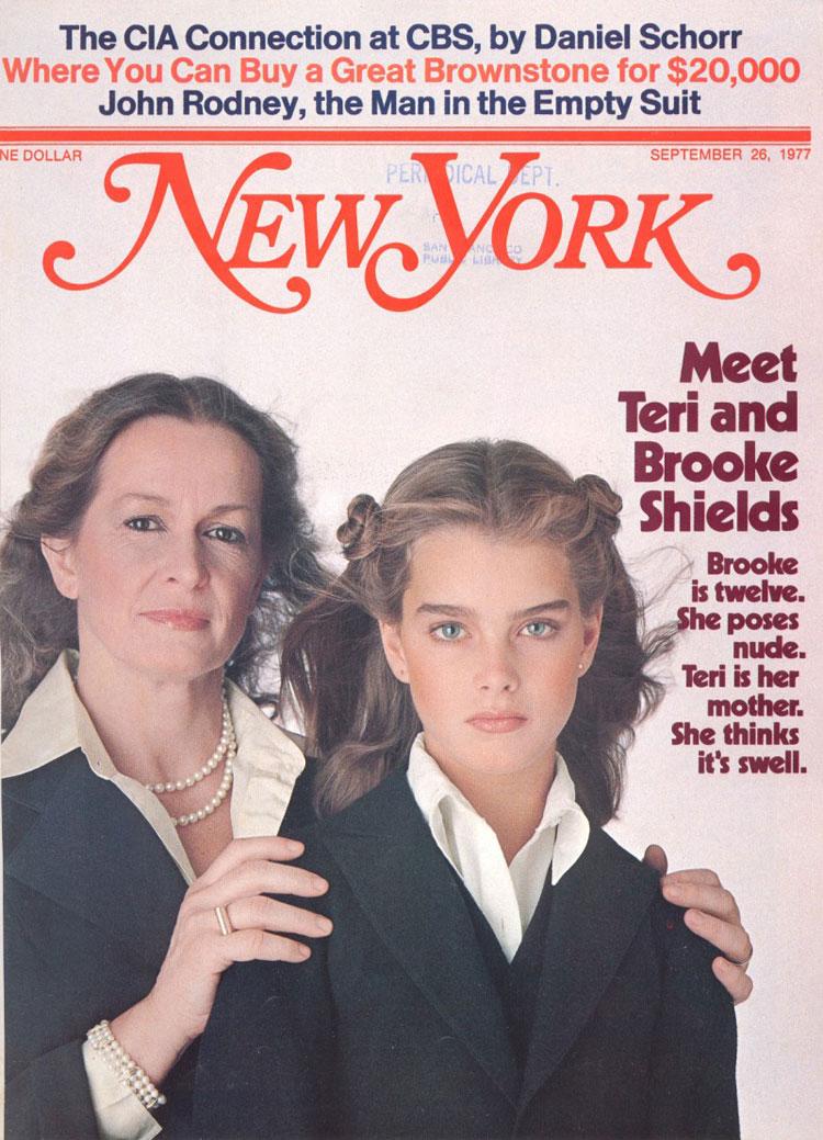 "Portada de la revista ""New York"", 25 de septiembre de 1977."