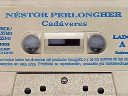 Nestor Perlongher Cadáveres