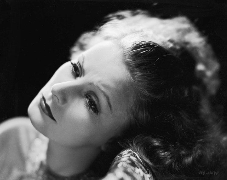 Clarence Sinclair Bull. Retrato de Greta Garbo, 1930.