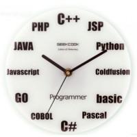 Relógio de Parede Programador - GeekCook