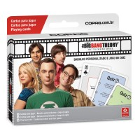 Baralho e Quiz Série The Big Bang Theory - Warner Bros
