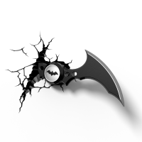 Luminária 3D Light FX Batarang - DC Comics