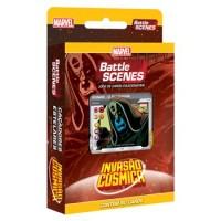 Battle Scenes Deck Vilões - Caçadores Estelares - BS 5 Invasão Cósmica