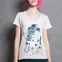 Camiseta R2-D2 Coffee Machine - M - Feminino
