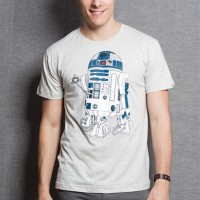 Camiseta R2-D2 Coffee Machine - M - Masculino