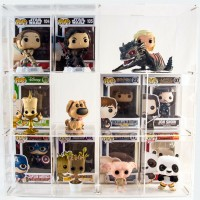 Expositor Guarda-Funko Exclusivo Geek Wish - 12 Nichos